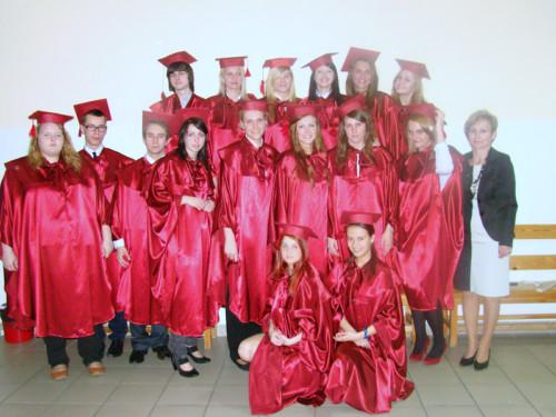 Pożegnanie maturzystów 2012